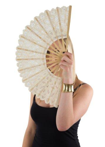 ivory hand fan - 5