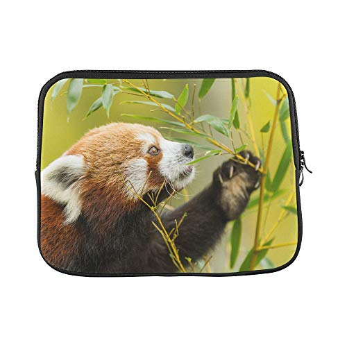 Unique Custom Beautiful Cute Red Panda Animal Print Mens Laptop Briefcase Soft Best Laptop Case Briefcase Protective for MacBook Air 11""