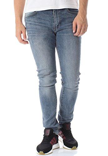 Levis Herren Jeans 519 Extreme Skinny Advanced Stretch 24875-0080 Blau, Hosengröße:30/32