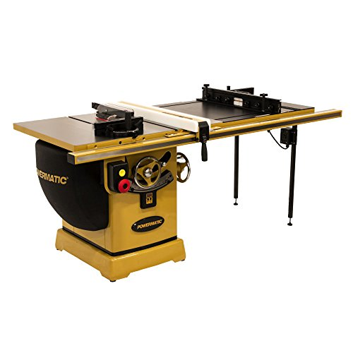 Best Buy! Powermatic PM23150RK 3HP 1PH 230V, 50″ RIP, RLIFT with Powermatic 1791791B Thin Kerf Riving Knife
