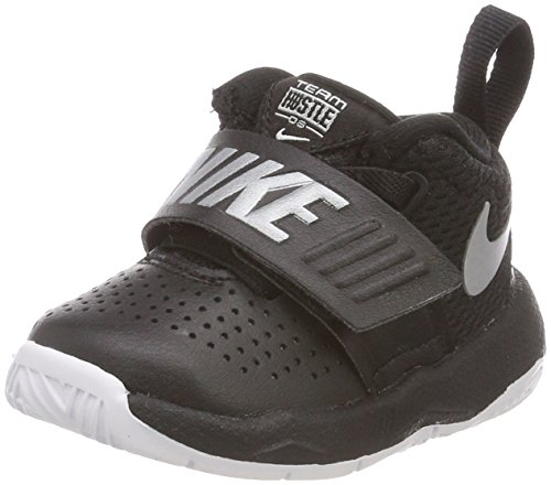 Nike Team Hustle D 8, Zapatillas de Gimnasia Unisex Niños, Blanco (White/Black...