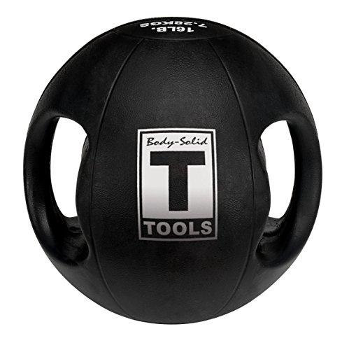 Body-Solid Dual Grip Medicine Ball 14 lb.