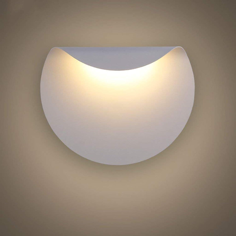 BAIJJ Wandleuchten Moderne Wandleuchte LED Leselampe Personalisierte Hotelzimmer Schlafzimmer Nachttischlampe Flur Flur Wohnzimmer Beleuchtung (Farbe  Weilicht)