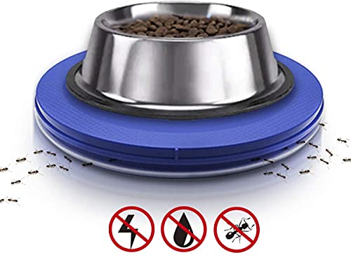 Yuwoda Ant Proof Cat Dog Bowl Tray - Anti Ant Pet Food Dish Safe Ant Killer Indoor No Chemical No Water Needed Different from Traditional Ant Trap…
