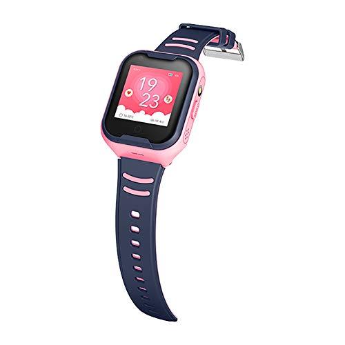 DUANQI Kinder Smart Watch Phone, Smartwatches mit Wasserdicht IP67, SOS, Voice Chat, Kamera, Wecker Armbanduhr Smartwatch Junge Mädchen Birthday,Rosa