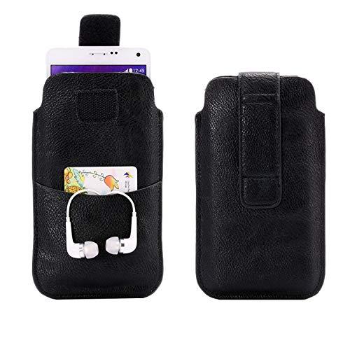 SZCINSEN Funda de piel sintética para teléfono celular Samsung Galaxy S21 5G, A50s, A20, A10, A10s, A50, A31, Note 9, 8, paquete de cintura para hombres, bolsa de transporte