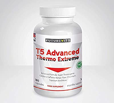 T5 Advanced Fat Burner Weight Management Supplement 3 Month Supply For Men And Women