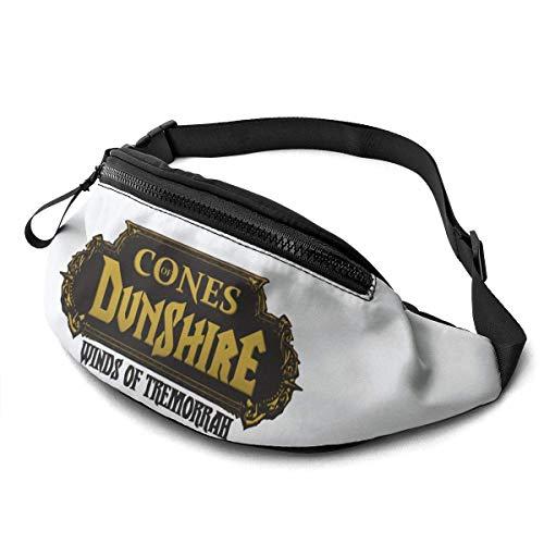 AOOEDM The Cones of Dunshire Riñonera Casual Fitness Belt Bag Hombres Mujeres