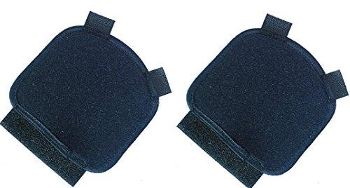 Funda acolchada (2 piezas) para muletas, con agarre anatómico