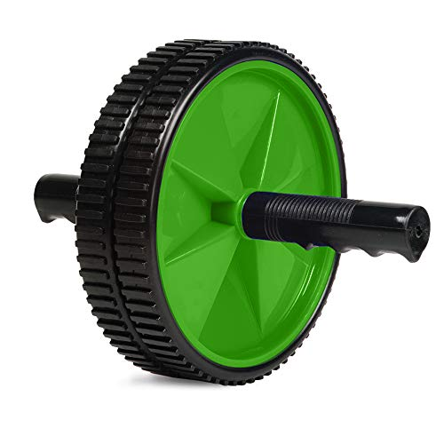 Everlast Ab Roller Wheel Shredder- Dual Wheel Stability with Training Guide