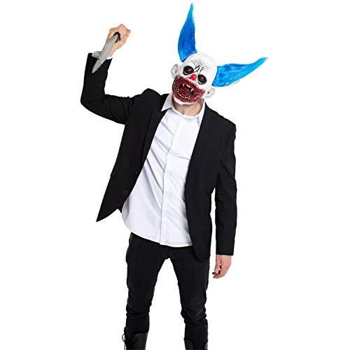 Folat Juguetes Fiesta Accesorios Halloween Adultos Niños Disfraces Máscara de Látex El Payaso Asesino
