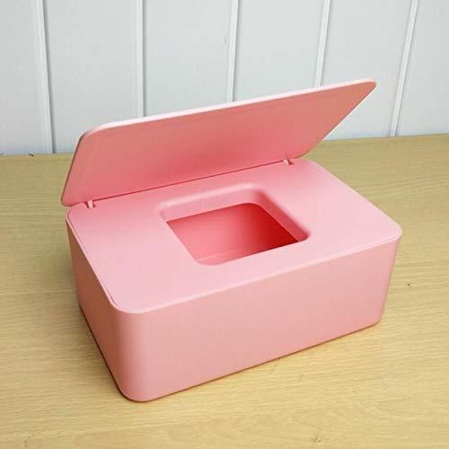 YFFSBBGSDK Caja de pañuelos Caja de pañuelos, Soporte de pañuelos húmedos, Caja de pañuelos húmedos, Caja de pañuelos, Caja de Almacenamiento de servilletas, Recipiente