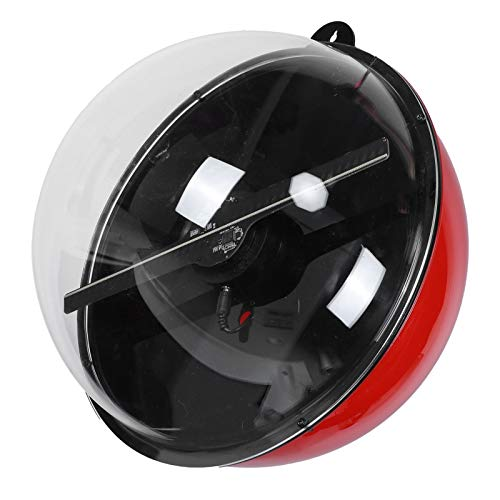 Holographischer 3D-Projektor, drahtloser WIFI 3D-LED-tragbarer Hologramm-Player Holographischer Werbelüfter mit Kugelkasten für Einkaufszentrum, U-Bahnstation, Party, Bar usw.(Vereinigtes Königreich)