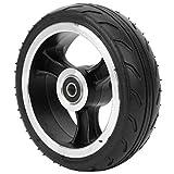 Alomejor Rueda de neumático de Scooter Trasero de 5,5 Pulgadas, neumático de Repuesto sólido para monopatín eléctrico Xiao-mi