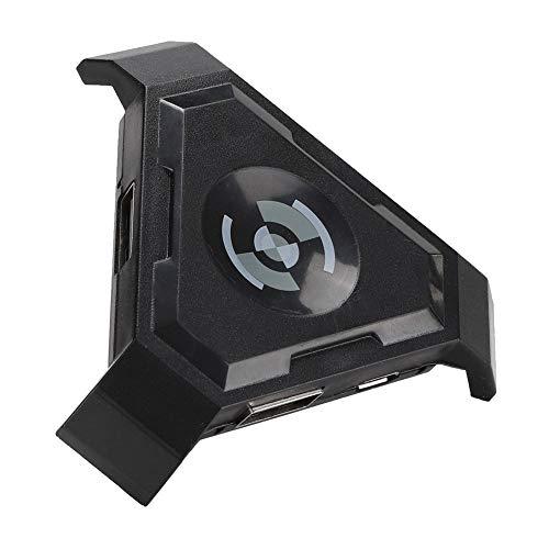 ASHATA Gamepad Keyboard Mouse Converter, Tastatur-Maus-Adapter für PUBG-Spielekonsole mit PC-Gaming-Erfahrung, Verbesserung der Kontrolle, für Android