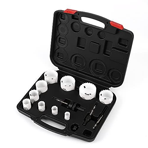 Dribotway Bimetal Hole Saw Kit 15 pieces universal 3/4
