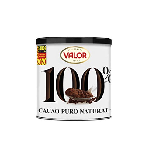 Chocolates Valor Cacao Puro 100% Natural, 250 g