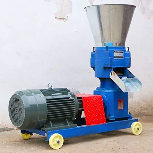 txmachine holz pellet mühle maschinen Holz Pellet Maschine Futterwürfelmaschine 150-200kg/h Pelletpresse feed pellet mühle maschine mit Motor (380V/50HZ)