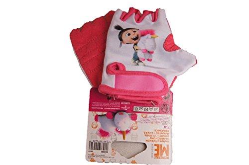 DESPICABLE ME Minions FAHRRAD-Handschuhe pink AGNES EINHORN Handschuh mädchen rosa