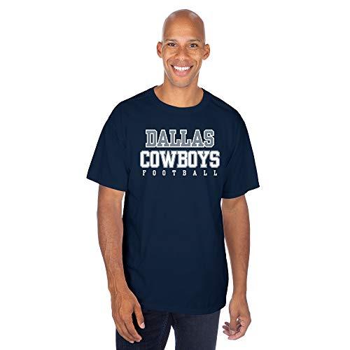 Dallas Cowboys NFL Herren Übungs-T-Shirt, Schwarz, Größe L, Jungen, Practice Mens, Navy, XX-Large