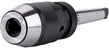 1pc 0-13mm 1/2 \acciaio auto-serraggio tornio senza chiave trapano mandrino e albero MT2-B16