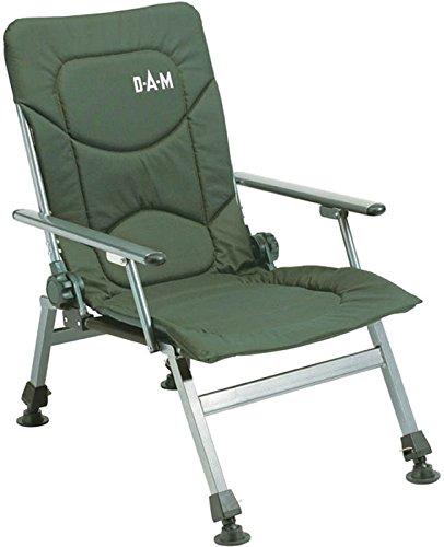DAM Klappstuhl mit Armlehnen Chair 130Kg