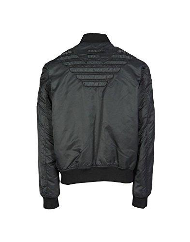 Armani Jeans Herren 6X6B456NACZ Jacke, Schwarz (Nero 0206), Medium (Herstellergröße: 50)