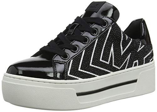 Michael Kors Damen Mkors Ashlyn Sneaker, Schwarz (Black 001), 41 EU