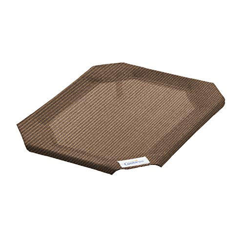 Coolaroo Replacement Cover, The Original Elevated Pet Bed by Coolaroo, Small, Nutmeg, 799780472429