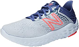 New Balance Fresh Foam Beacon v3 Women's Running Shoes, Moon Dust with Magnetic Blue