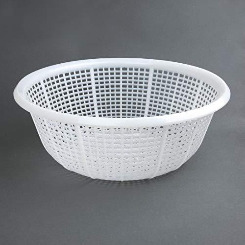 Vogue 137 Round Colander Polyethylene, 380 mm, White