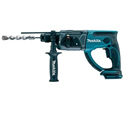 Makita Li-ion and hammer drill, case only, DHR202Z, 18 V, blue, silver