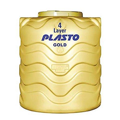 Plasto Water Tank 4-Layered-Insulated, 1000 L (Gold, B2WPLUPLAWTT0001V2)