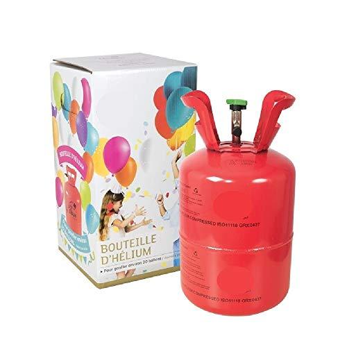 PTIT Clown re42850, Bouteille dhélium jetable - 0.42 m3 (pour 50 ballons)