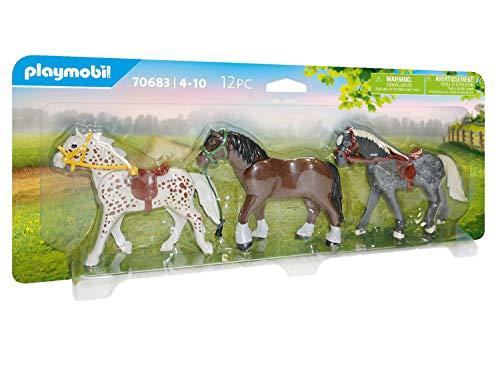 Playmobil 70683A Juguete 3 Pony