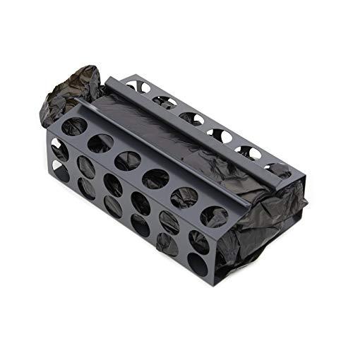 Arregui Top CRA14-B Dispensador de Bolsas de Basura, Antracita, 8 x 13 x 22