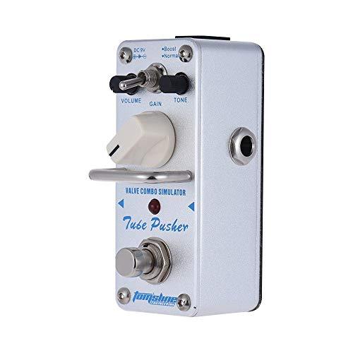 Doolland ATP-3 Tube Pusher Valve Combo Simulator Pedal de efecto de guitarra eléctrica Mini Single Effect con True Bypass