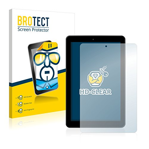 BROTECT Schutzfolie kompatibel mit Medion Lifetab E10501 (MD 60240) (2 Stück) klare Bildschirmschutz-Folie