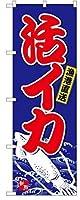 活イカ のぼり旗 28SNB-4937(日本ブイシーエス)