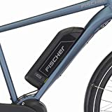 Fischer Herren - E-Bike Trekking ETH 1820, saphirblau matt, 28 Zoll, RH 50 cm, Mittelmotor 50 Nm, 48 V Akku