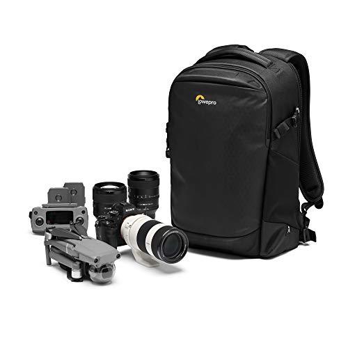 Lowepro Flipside BP 300 AW III Kamerarucksack für spiegellose/DSLR-Kameras - schwarz - rückwärtiger und seitlicher Zugang - Fachteiler anpassbar - für spiegellose Kameras wie Sony α7 - LP37350-PWW