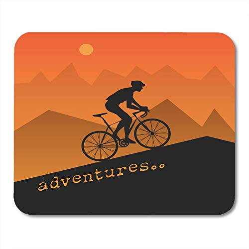 Preisvergleich Produktbild Mauspads für Radfahren,  Werbung für abstraktes Fahrrad,  Klettern,  Fahrrad,  Garage,  Urlaub,  Mauspad für Notebooks,  Desktop-Computer,  Bürobedarf,  25 x 30 cm