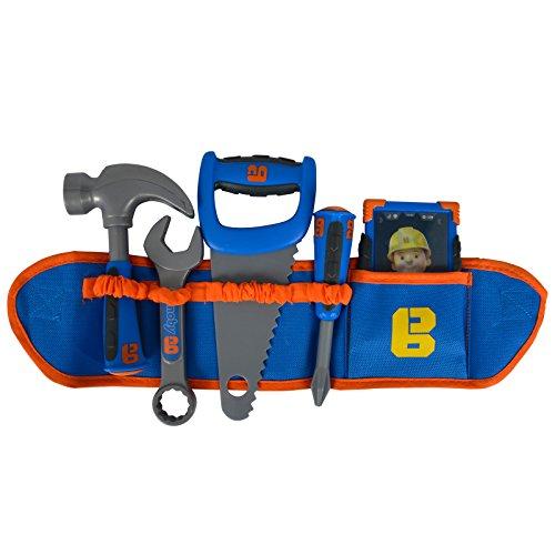 #0618 Kinder Spielzeug Werkzeuggürtel mit Zubehör und Einem Smartphone Bob der Baumeister •...