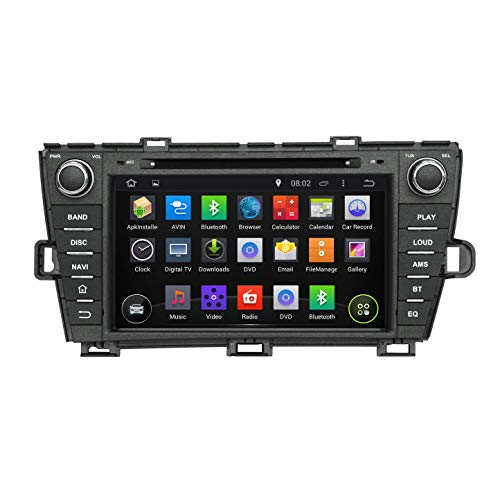 JIBO para To yo ta Prius dejó de Conducir 2009-2014 Android 8.0 Auto Estéreo GPS Navegación DVD Jugador Capacitivo Tocar Pantalla Nav Sat Cabeza Unidad 3G WiFi SWC Radio Video Receptor