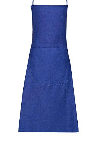 JAH GmbH Jah AP-137-NLA Arbeitsschürze 10 Stück Baumwolle Standard-Qualität blau