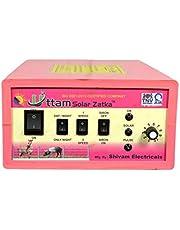 UTTAM Zatka Machine (2X Power) Solar Fence Energizer 100 Acres(200 Viga) Area Cover Zatka Machine (Pink)