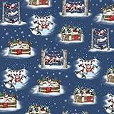 Weihnachten Pinguin Stoffe–Just Chillin