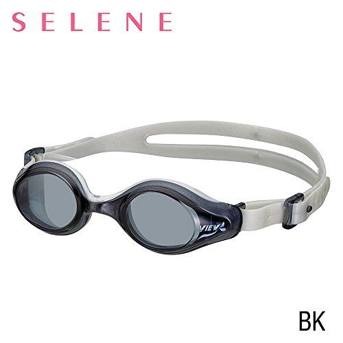 VIEW Swimming Gear V-820 Selene Swim Goggles, Black