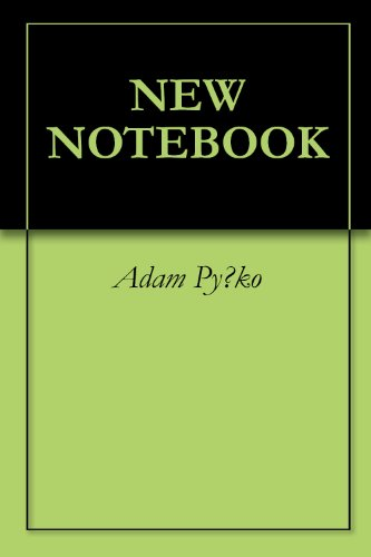 NEW NOTEBOOK (English Edition)