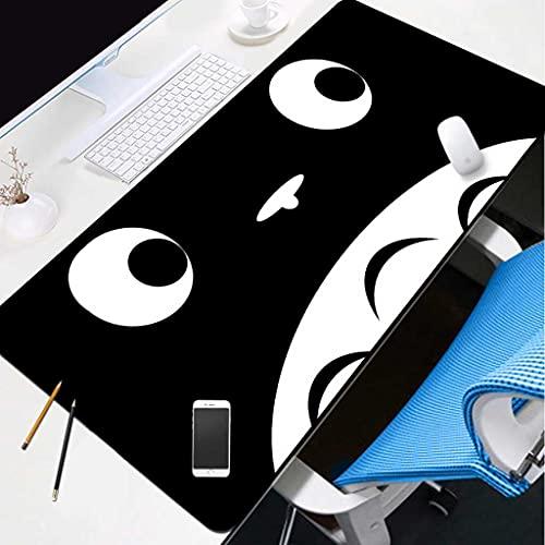 NZTCRFP Alfombrilla De Ratón Gaming Gato Animal De Dibujos Animados Blanco Y...